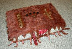 Make your own Monster Book of Monsters....going to do this (includes tutorial)