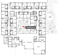 Assisted Living Facilities Floor Plans Carrington court <b>assisted living</b>  memory care <b>facility floor</b> ...
