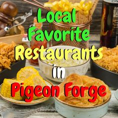 There's so many amazing restaurants in Pigeon Forge to choose from. Check out these local favorite restaurants in Pigeon Forge Tennessee for your next meal. Pigeon Forge Restaurants, Gatlinburg Restaurants, Gatlinburg Vacation, Gatlinburg Tn, Pigeon Forge Tennessee Cabins, Pigeon Forge Tn, Smoky Mountain Christmas, Smokey Mountain, Tennessee Vacation