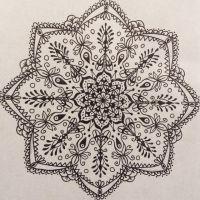 Lavender - Mandala Design by Zentaurius