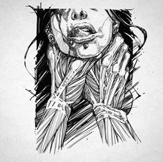 Gothic Drawings, Demon Drawings, Dark Drawings, Tattoo Drawings, Arte Cholo, Satanic Art, Sketch Tattoo Design, Beautiful Dark Art, Exotic Art