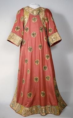 Eagle Dalmatic probably made for Louis of Bavaria, before 1350.