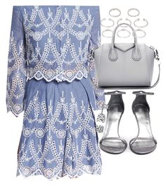 """""""Untitled #19542"""" by florencia95 ❤ liked on Polyvore featuring Kendall + Kylie, Givenchy, Stuart Weitzman, Forever 21, BERRICLE, women's clothing, women, female, woman and misses"""