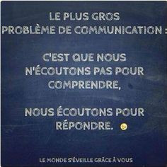 La communication ...