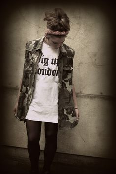 #B-side Vest and camo  Women's Vests #2dayslook #fashion #Vests www.2dayslook.com