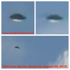 UFO Recorded Over Neighborhood In Southern Minas, Brazil Makes TV News Video