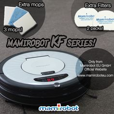 You could buy Mamirobot KF series in Mamirobot Europe website now. (For German, French, Italian and English)   We are giving you free accessories for the customer who buys Mamirobot KF series in our website now.  Get your free accessories now! Visit now! www.mamiroboteu.com #mamiroboteuSie