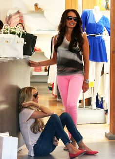 Petra and Tamara Ecclestone Shop The Day Away