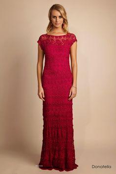 Crochetemoda: August 2014 wow beautiful dress  great for inspiration