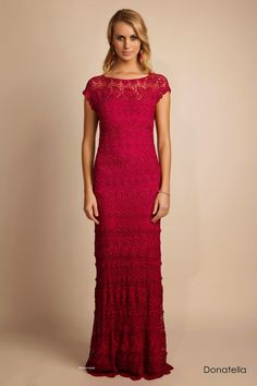 Crochetemoda: August 2014 wow beautiful dress  great for inspiration