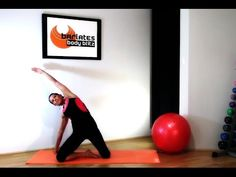 FREE Abs Workout PILATES BARRE ABS - Sculpted Core BARLATES BODY BLITZ - YouTube