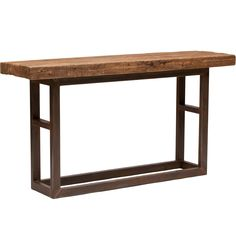 Jaden Iron Leg Console - Console Tables - Accent Tables - Furniture
