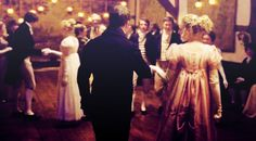 Emma and Mr. Knightly at the ball - The BEST part in the movie!!! I fall in love with it every time I watch it <3 the perfect couple