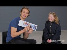 Sam Heughan talks about My Peak Challenge raising money for his chosen charity Bloodwise. Blood cancer patient Amy Carmichael shares her story with Sam.