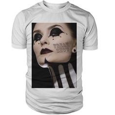 "American Horror Story Freakshow ""Zebra Neck Tattoo"" T Shirt S M L XL TV Series DVD Inspired Printed Tee Scary Freak Sick Bite Blood Vampire"
