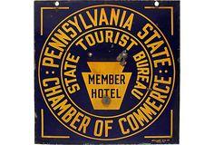 Pennsylvania Tourist Hotel Sign