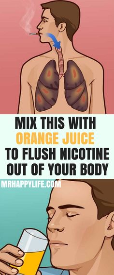 Your body needs 48 to 72 hours to flush nicotine out, which is bad news for those who try to reduce their cravings to minimum. However, cream of tartar can be your miracle ingredient which will help you flush nicotine out of your body. Even if you don't s
