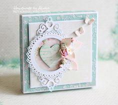 Pudełko do kartki ślubnej