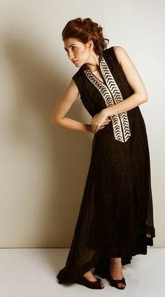 Kaam Asia Women's Silk Kurtas Collection-14   Semi Formal Silk Kurtas Designs - Clothing9   Fashion  Lifestyle Blog