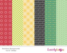 Digital pattern paper
