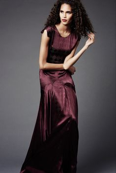 Marsala-ish: Zac Posen Pre-Fall 2015 - Collection - Gallery - Style.com