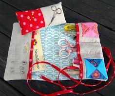 Zakka sewing kit by Floh.Stiche, via Flickr