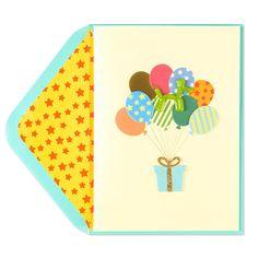 Doggie Balloons Card