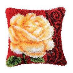 Buy Golden Rose Latch Hook Kit Online at www.sewandso.co.uk