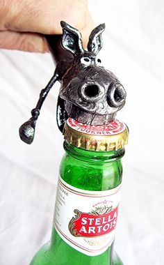 Horse Bottle Opener handmade from recycled steelHand by PlanetDork, $39.99