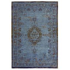 alfombra Reloaded Chenille celeste