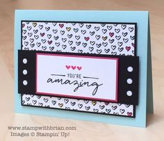 Watercolor Wishes Card Kit, Everyday Chic Designer Series Paper, Stampin' Up!, Brian King