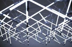 Tensegrity Space frame Lights - mmbartosik