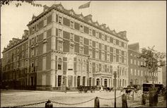The Shelbourne Hotel. Founded 1824 by M. Burke from Tipperary. Irish Constitution drafted in room 112 - The Constitution Room Haunted Hotel, Most Haunted, Shelbourne Hotel Dublin, Ireland Facts, Irish Free State, Spooky Places, Haunted Places, Dublin Hotels, The Beautiful Country