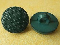 10 kleine dunkelgrüne Knöpfe 13mm (3566)Knopf grün