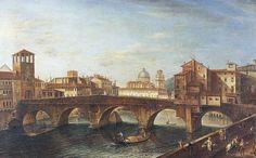 Verona - Ponte Pietra - Anonimo, prima metà del XVIII secolo