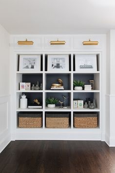 Black Back Bookcase Paint Color Benjamin Moore Iron Mountain