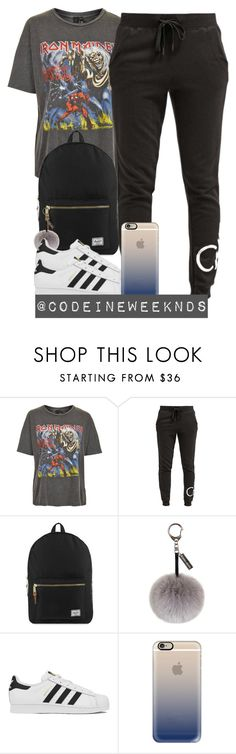 """4/28/16"" by codeineweeknds ❤ liked on Polyvore featuring And Finally, Calvin Klein, Herschel Supply Co., Helen Moore, adidas and Casetify"