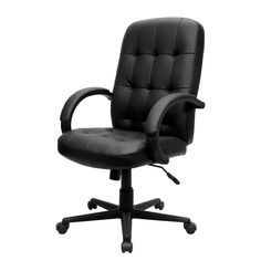 Tufted Leather Executive Office Chair   Http://www.imagee.net/