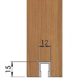 41-2 aluminium channel - dimensions