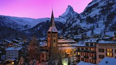 """The only Grand Hotel in Zermatt! Book directly at ☎ [yext field=""""mainPhone"""" The hotel in the centre of Zermatt with a magnificent view of the Matterhorn. Zermatt, Places To Travel, Places To Visit, Switzerland Vacation, Das Hotel, Restaurant, Swiss Alps, Grand Hotel, Luxury Travel"""