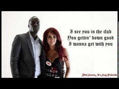 Akon feat Dulce María - Beautiful (Letra) (Lyrics)