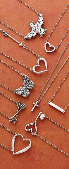 Customers give these necklaces five stars. Which of our most-loved necklaces is your favorite? #JamesAvery