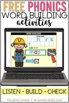 Free Word Building Activities