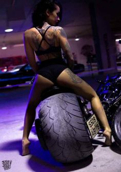 Girls and Motorcycles # 10