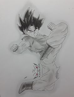 Limit Breaker/Ultra Instinct Goku fanart from Dragon Ball Super by ZorArt