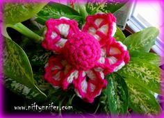 Funky Flower Motif #2 by Niftynnifer