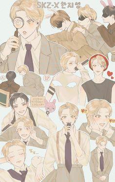 Kids Fans, Exo Fan Art, Kpop Fanart, New Puppy, Art For Kids, Puppies, Cute, Anime, Fictional Characters