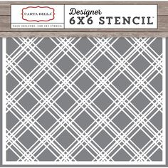 Carta Bella Christmas Delivery Plaid Designer Stencil - at dollar general coupon Wholesale Craft Supplies, Craft Supplies Online, Arts And Crafts Supplies, Art Supplies, Porch Brackets, Paper Companies, Christmas Delivery, Simon Says Stamp, Ink Pads