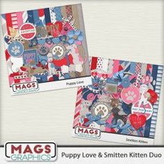 Puppy Love & Smitten Kitten BUNDLE