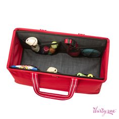 For the pet lover! Use the Large Utility Tote to store a leash, pet toys, grooming supplies and treats!